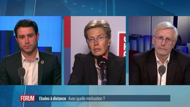 Le grand débat (vidéo) - Etudes à distance: comment garder la motivation? [RTS]