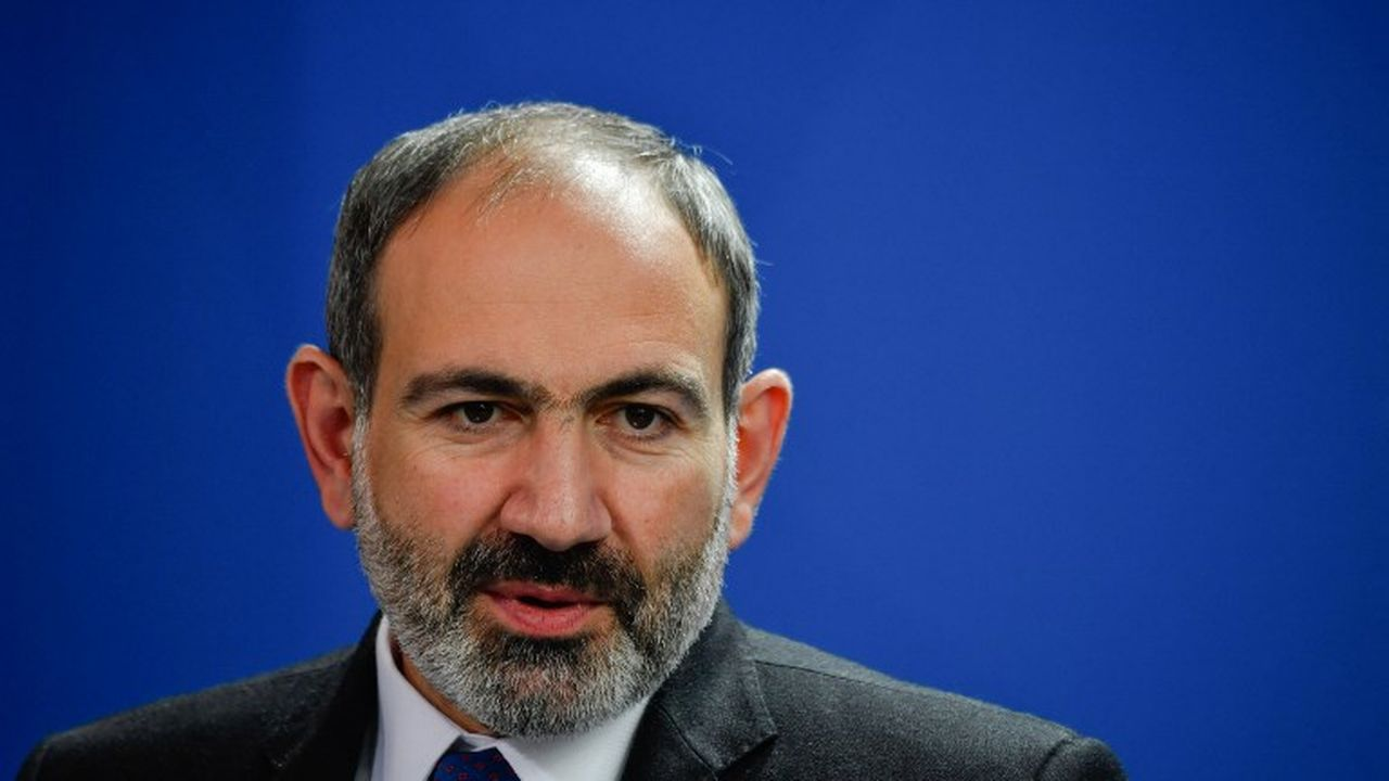 Nikol Pachinian, Premier ministre arménien. [John MacDougall  - AFP]