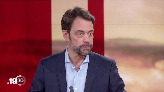 Pascal Crittin répond aux accusations de harcèlement sexuel à la RTS. [RTS]
