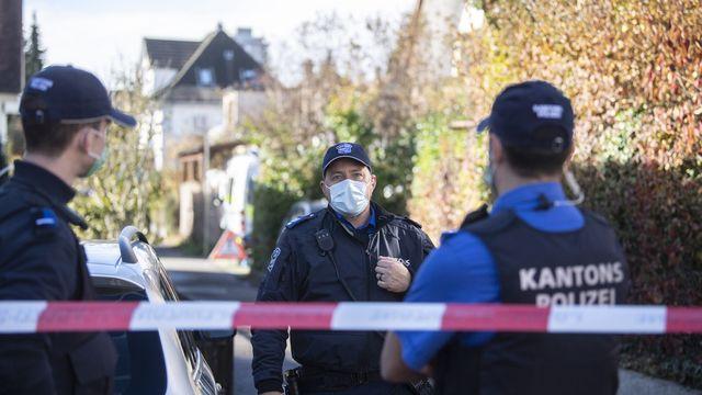 La police argovienne a été prévenue lundi en début de matinée. [Ennio Leanza - Keystone]