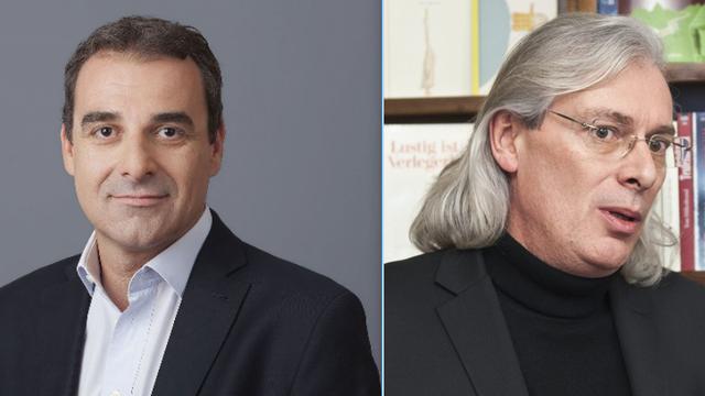 Yves Menoud et Pascal Vandenberghe. [RTS]