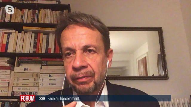 La SSR face au harcèlement: interview de Gilles Marchand [RTS]