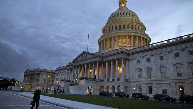 Les démocrates espèrent prendre la majorité du Sénat. [Evan Vucci - AP Photo - Keystone]