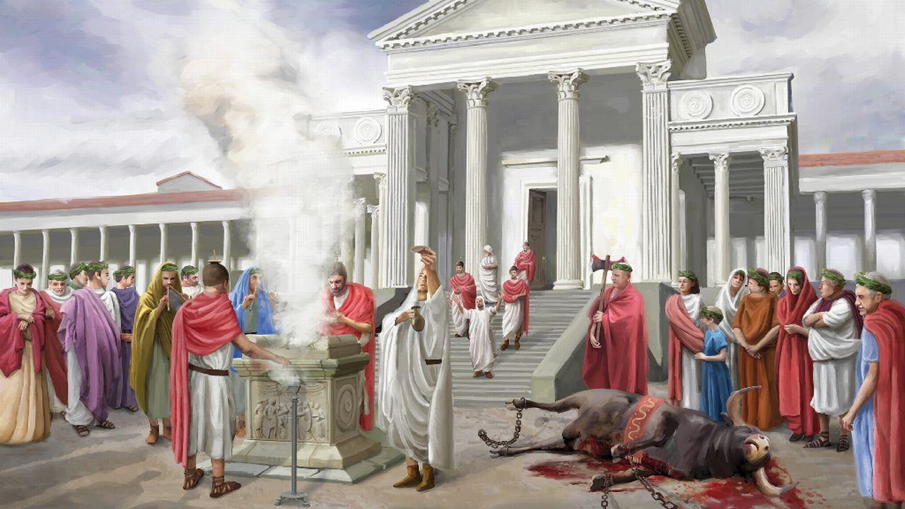Aventicum D - couverte: La capitale des Helvètes a 2000 ans [RTS]