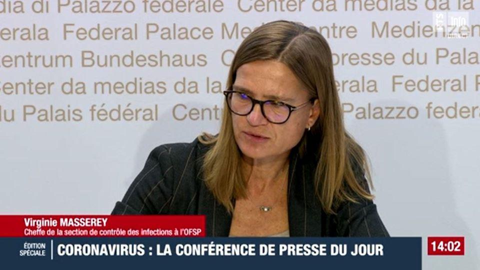 Virginie Masserey. [RTS]