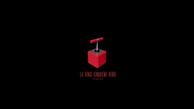 """Logo de """"La Vingt-Cinquième Heure"""", société de production et distribution de films et formats web dirigée par Pierre-Emmanuel Le Goff et Guilhem Olive. [La Vingt-Cinquième Heure]"""