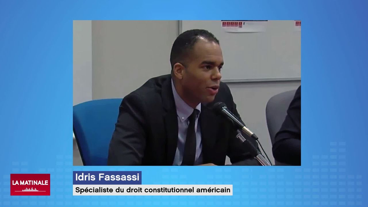 L'invité de La Matinale (vidéo) - Idris Fassassi, professeur de droit, spécialiste du droit constitutionnel américain [RTS]