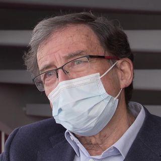 Bernard Hirschel, président de laCommissiond'éthique de la recherche sur l'être humain (CEREH) à Genève. [RTS]