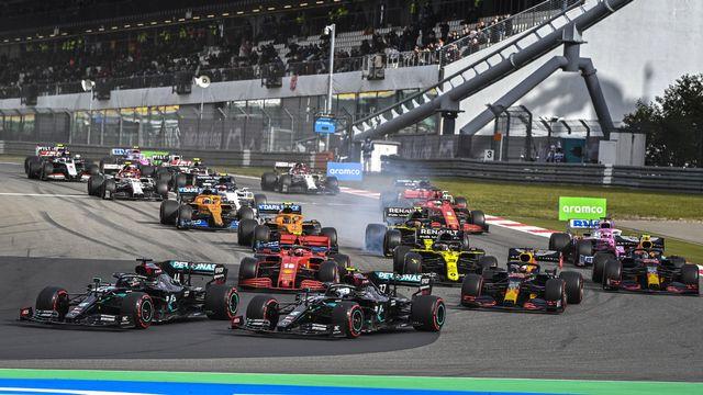 le championnat du monde de F1 fera escale pour la première fois en Arabie saoudite la saison prochaine. [Ina Fassbender - Keystone]