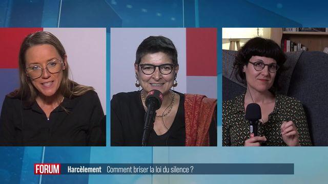Le grand débat - Harcèlement: comment briser la loi du silence? [RTS]