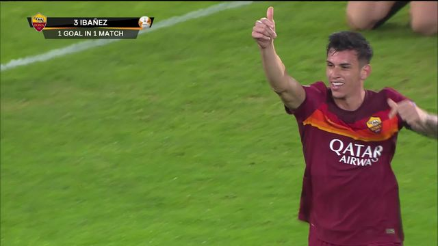 3e journée, AS Rome - Cluj (5-0): la Roma intraitable avec Cluj [RTS]