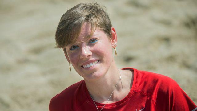 Irene Pusterla compte 14 médailles d'or, toutes glanées aux championnats de Suisse. [Carlo Reguzzi - Keystone]