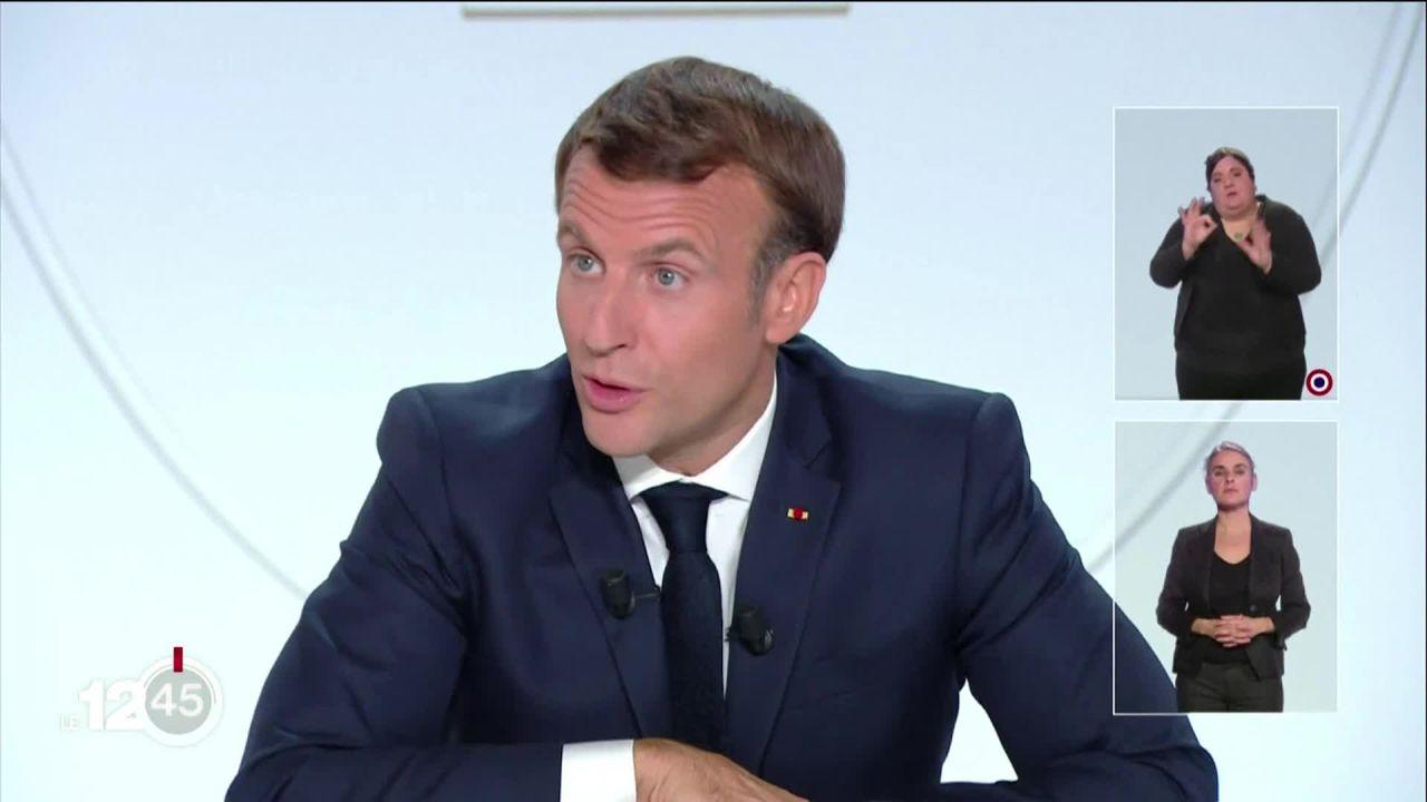 La France instaure un couvre-feu de 21h à 6h du matin dans 9 métropoles [RTS]