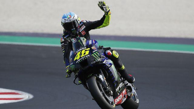 Valentino Rossi pourra s'élancer sur la piste à Valence. [Antonio Calanni - Keystone]