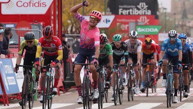 Magnus Cort Nielsen s'est imposé pour la 3e fois sur la Vuelta après deux succès en 2016. [Kiko Huesca - Keystone]