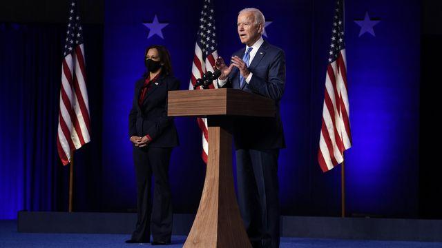 Joe Biden et Kamala Harris. [Carolyn Kaster/AP - Keystone]