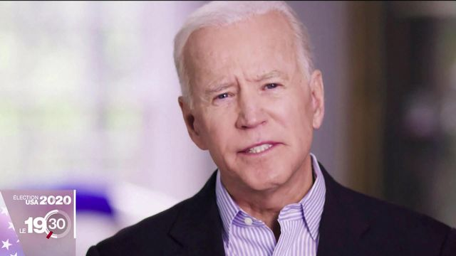 Joe Biden élu président des Etats-Unis: le sacre du vétéran [RTS]