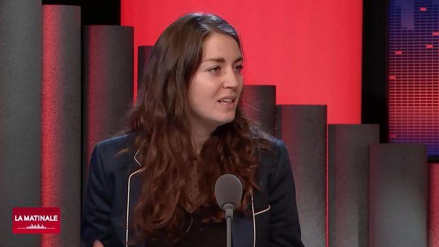 L'invitée de La Matinale - Léonore Porchet, Deputée Verte au Grand Conseil vaudois [RTS]