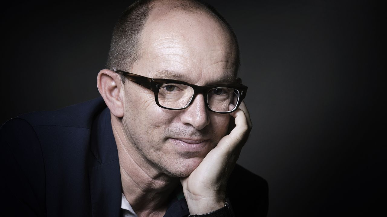 L'écrivain Laurent Mauvignier. [Joël Saget - AFP]