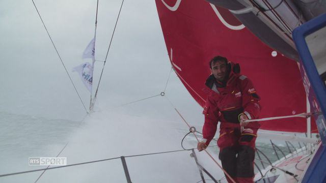 Le navigateur suisse Alan Roura [RTS]