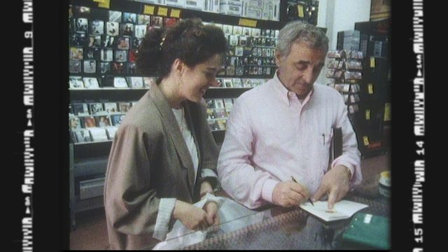 Charles Aznavour et la Suisse [RTS]
