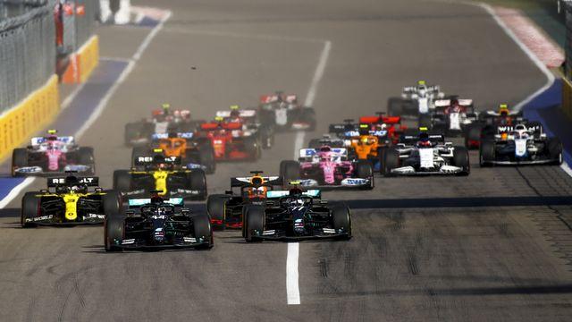 Le calendrier 2021 pourrait voir se disputer 23 GP, un record. [Bryn Lennon - Keystone]