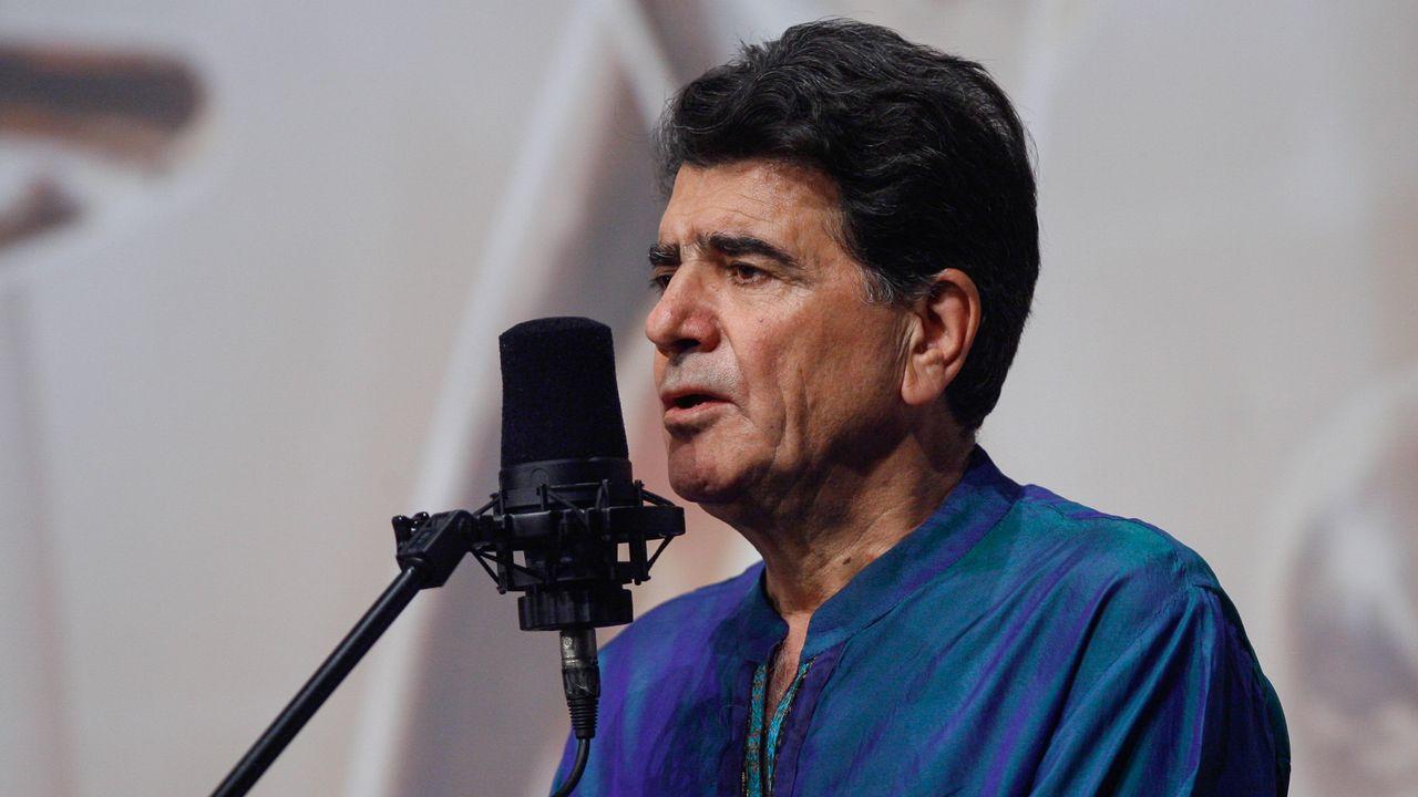 Le chanteur et musicien Mohammad-Réza Shajarian, ici en octobre 2008 à Téhéran.  [Alireza SOTAKBAR/ ISNA - AFP]