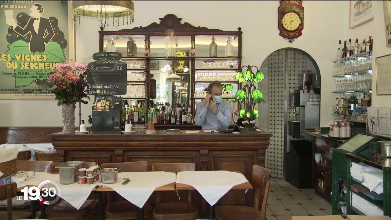 Genève est la ville de Suisse où il y a le plus de restaurants. Les petits souffrent et les mastodontes du secteur investissent [RTS]