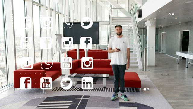 Dans l'univers des réseaux sociaux et des social media editors, un quiz de la Semaine des médias 2020. [RTS  - Chocolat productions]