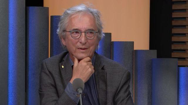 Bertil Cottier, professeur en droit des médias. [RTS]
