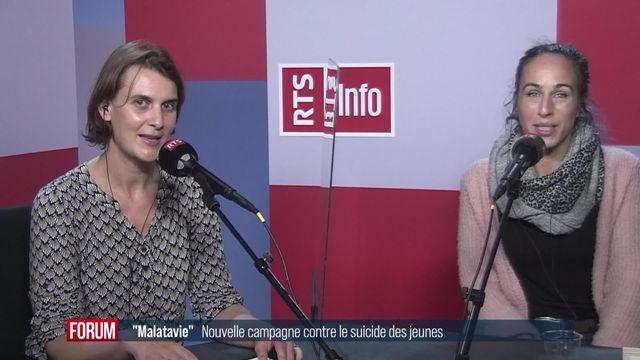 Forum des idées - Nouvelle campagne contre le suicide des jeunes [RTS]