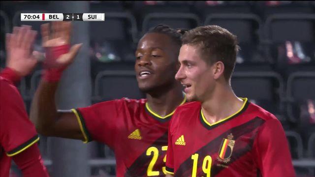 Belgique - Suisse (2-1): défaite au terme d'une rencontre ennuyeuse [RTS]