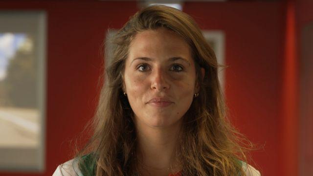 Margot Delévaux, journaliste Instagram. [RTS Découverte. - RTS]