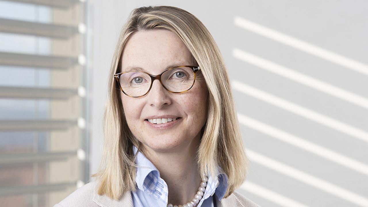 Kerstin von Plessen, cheffe du Service universitaire de psychiatrie de l'enfant et de l'adolescent au CHUV à Lausanne. [© Markus Redvall - Unil - Faculté de Biologie et de Médecine]