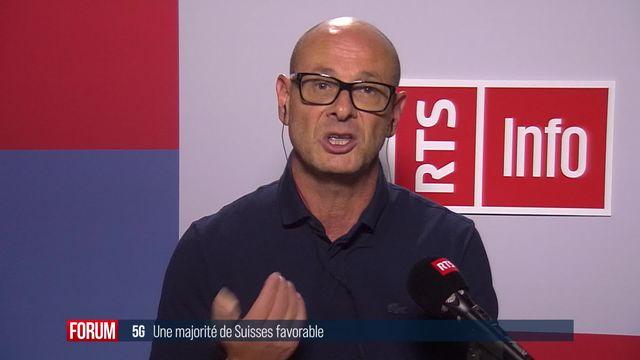 Deux tiers des Suisses seraient favorables à la 5G selon un sondage [RTS]