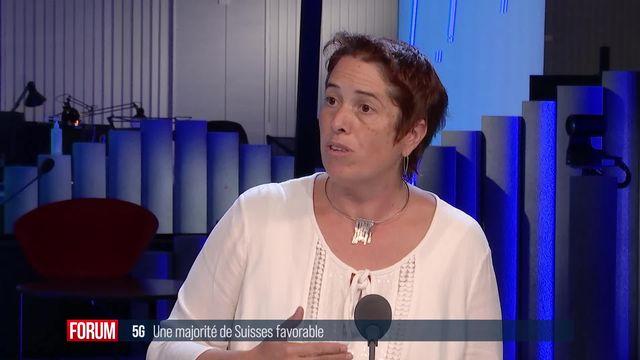 Deux tiers des Suisses favorables à la 5G: débat entre Isabelle Chevalley et Alberto Mocchi [RTS]