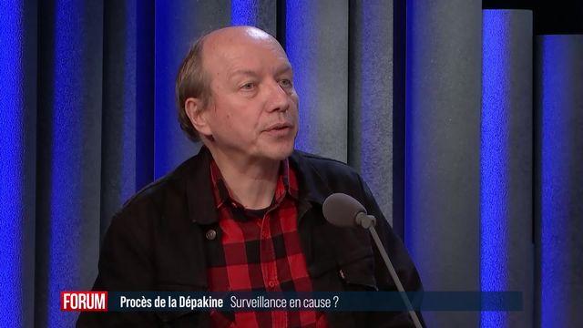 Témoignage au procès de l'antiépileptique Dépakine à Genève: interview de Thierry Buclin [RTS]