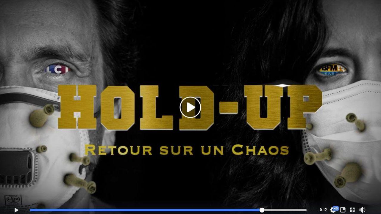 """L'affiche du film """"Hold-up"""". [Tprod]"""