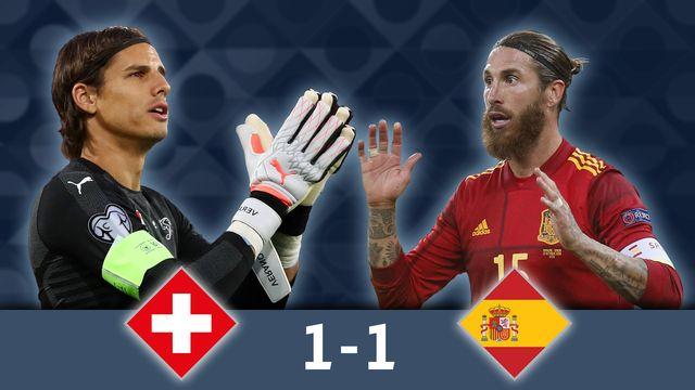 LigueNations Suisse Espagne