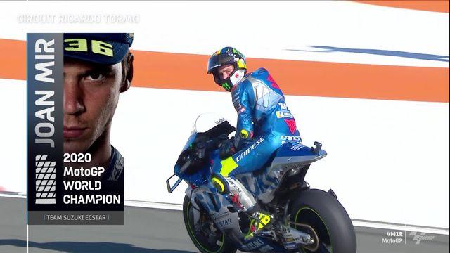 GP de Valence (#12), MotoGP: victoire de Morbidelli (ITA), Juan Mir (ESP) champion du monde ! [RTS]
