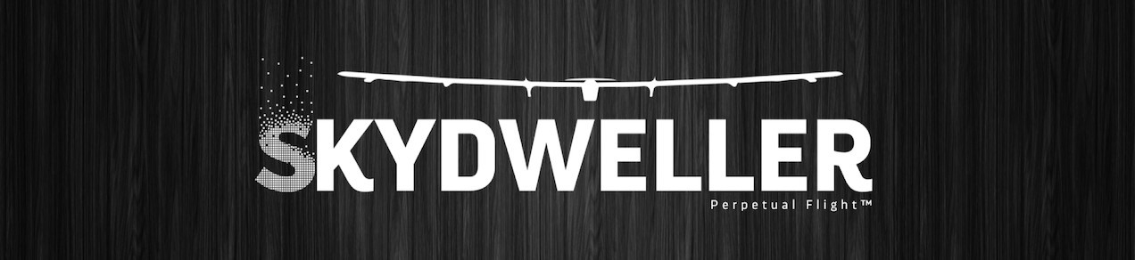 The Solar Impulse aircraft is integrated into the logo of Skydweller, the new owner of the aircraft.