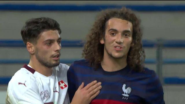 U21, France - Suisse (3-1): nettement supérieurs, les Bleuets s'imposent logiquement [RTS]