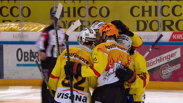 National League, 16e j.: Rapperswil - Berne (2-3) [RTS]