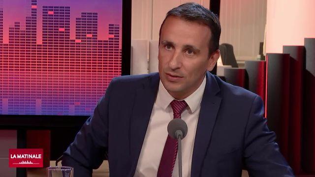 Sidney Kamerzin, conseiller national (PDC-VS). [RTS]