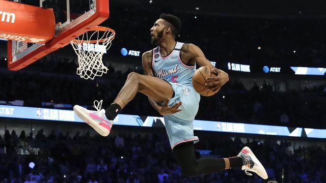 Derrick Jones Jr. avait brillé lors du concours de dunk du dernier All-Star Game. [Nam Y. Huh - Keystone]