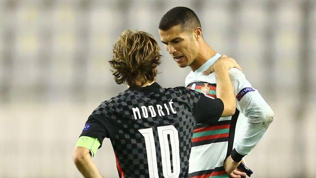 Gr.3, Croatie - Portugal (2-3): le Portugal s'impose dans le temps additionnel