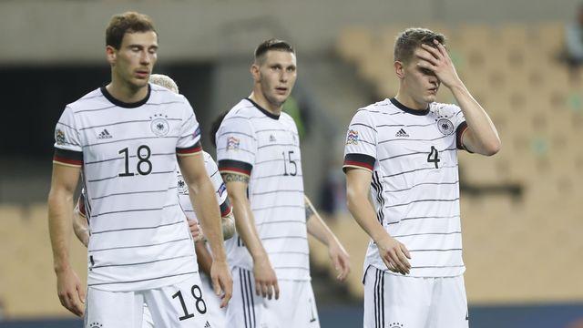 L'Allemagne a perdu 6 à 0 contre l'Espagne. [Miguel Morenatti - Keystone/AP Photo]