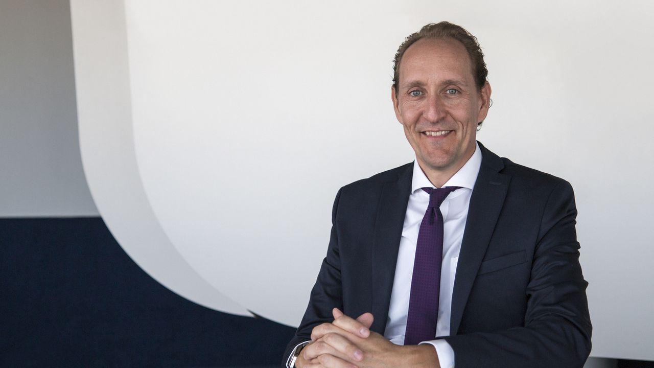 Dieter Vranckx dirigera la compagnie aérienne Swiss, dès janvier 2021.  [SWISS - Keystone]