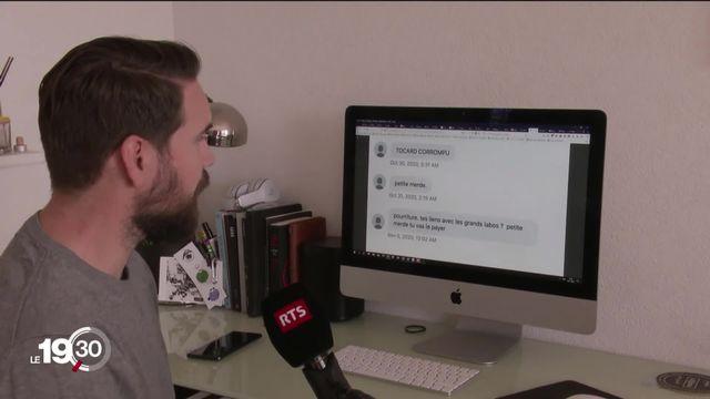 Insultes, menaces, documentaire... depuis 3 mois les complotistes fleurissent sur les réseaux sociaux [RTS]