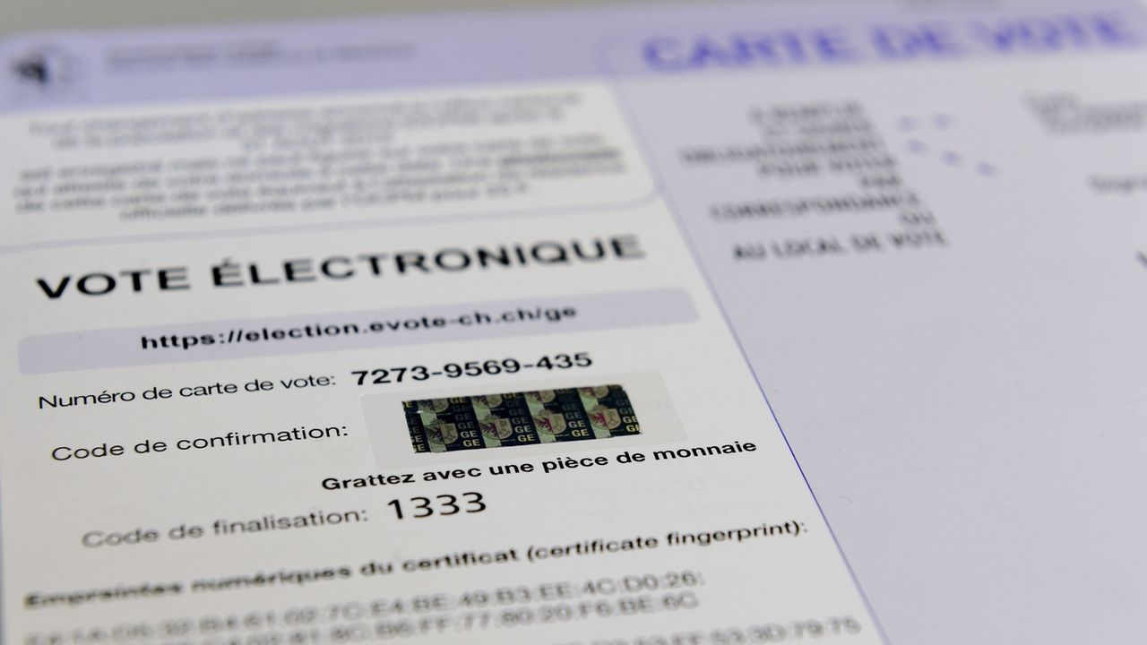 Sécurité, transparence et contrôle indépendant sont cruciaux pour le vote électronique en Suisse. [Martial Trezzini - Keystone]